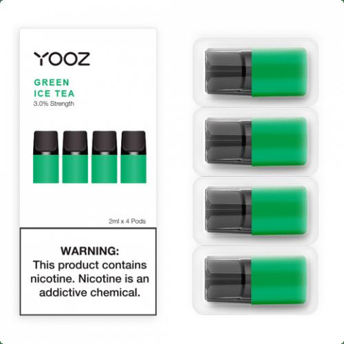 yooz green ice tea pod